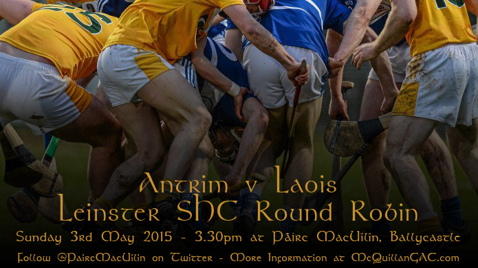 Laois v Antrim - Allianz Hurling League Division 1B Relegation Play-off